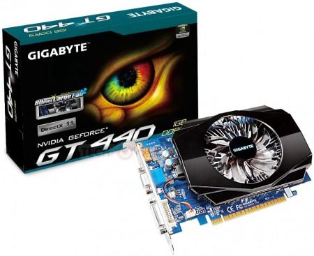 Видеокарта GIGABYTE GV-N440-1GI