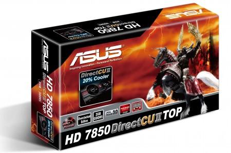 Видеокарта ASUS Radeon HD 7850 DirectCu II TOP