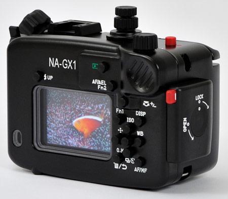Бокс Nauticam NA-GX1 открывает перед владельцами камеры Panasonic Lumix DMC-GX1 возможности подводной съемки