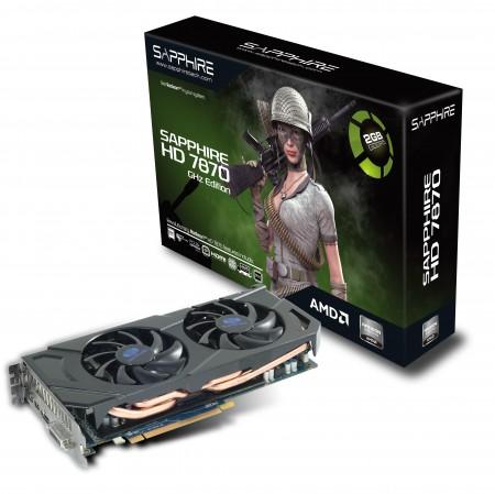 Видеокарта SAPPHIRE Radeon HD 7870