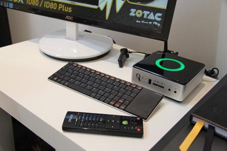 ZOTAC привезла на CeBIT 2012 обновлённые компактные ПК семейства ZBOX