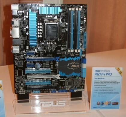 ��������� ����� ASUS �� ������� Intel Z77