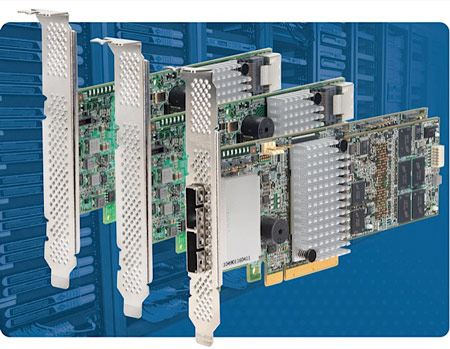 LSI использует в адаптерах SATA и SAS 6 Гбит/с MegaRAID двухъядерный контроллер LSISAS2208