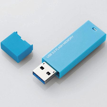 Лаконично оформленные флэш-накопители Elecom MF-MSU3 оснащены интерфейсом USB 3.0
