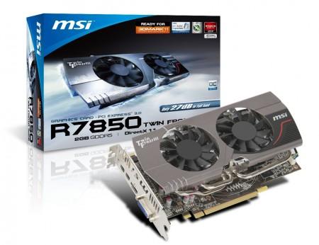 Видеокарта MSI R7870 TwinFrozr III