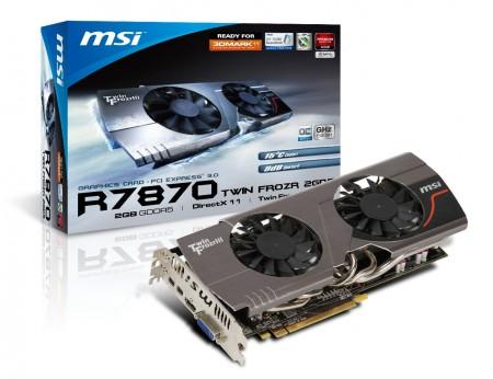 Видеокарта MSI R7850 TwinFrozr III