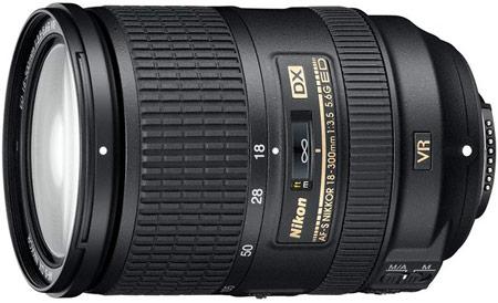 �� ����� Nikon ������������ �������� AF-S DX Nikkor 18-300mm f/3.5-5.6G ED VR