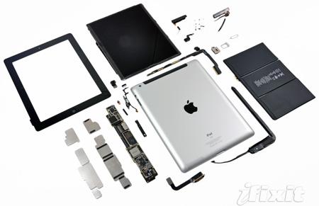 iPad 3 подвергся разборке