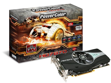 Видеокарта PowerColor Radeon HD 7870 PCS+