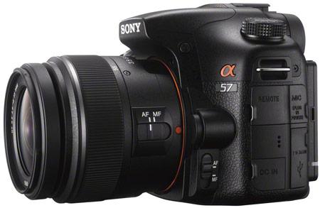 Представлена камера Sony α57 (Alpha SLT-A57)