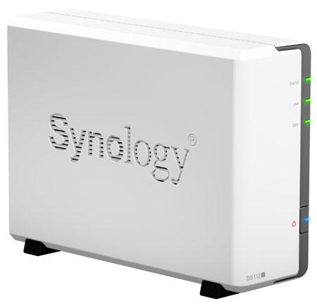 Сетевой накопитель Synology DiskStation DS112j рассчитан на один HDD