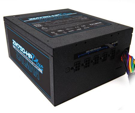 Ассортимент Zalman пополнился блоком питания ZM750-HP Plus