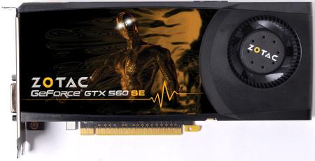 ZOTAC представляет видеокарту GeForce GTX 560 SE