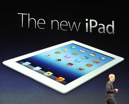 Представлен новый планшет Apple iPad