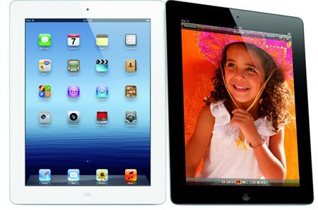 Apple продала три миллиона нового iPad