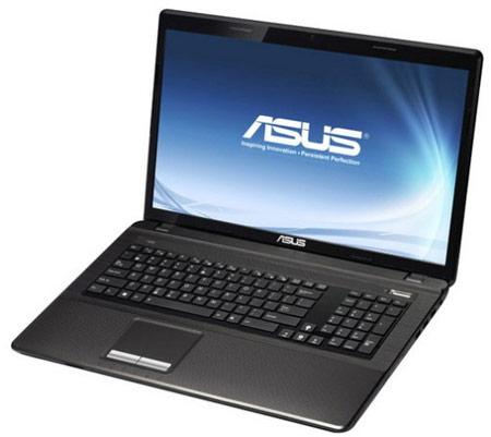 Ноутбук ASUS K93SM оснащен дисплеем размером 18,4 дюйма и оптическим приводом