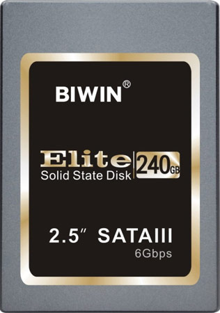 В твердотельных накопителях Biwin Elite используется контроллер LSI SandForce SF-2281