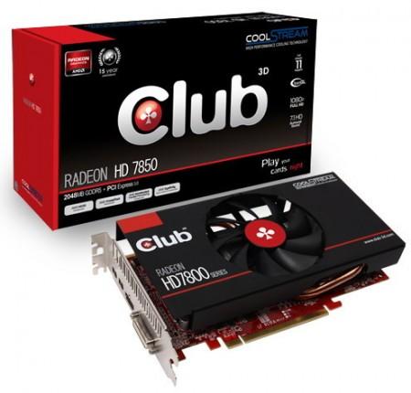 Видеокарта Club 3D Radeon HD 7800