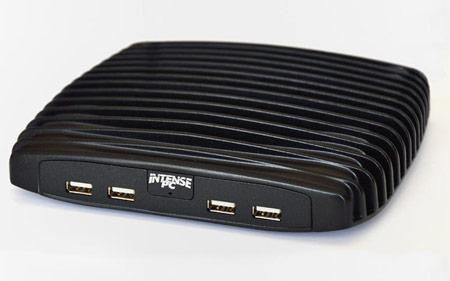 CompuLab утверждает, что неттоп с пассивным охлаждением Intense PC по производительности сопоставим с настольным ПК