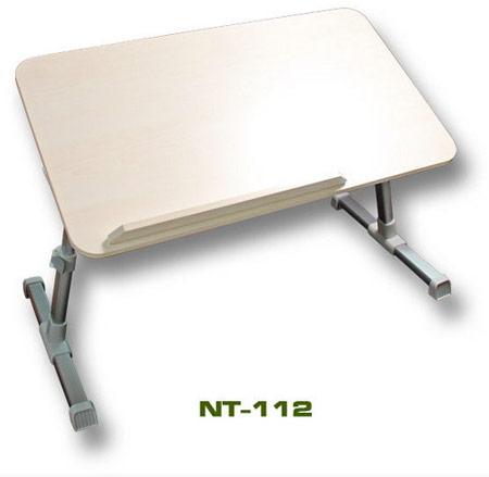 Ножки столиков для ноутбуков EVERCOOL YOHO NT-111 и NT-112 сделаны складными