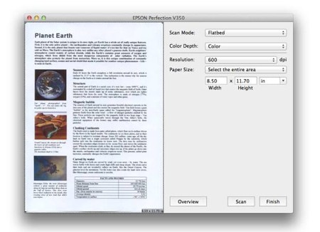 Программа ABBYY FineReader Express Edition для Mac