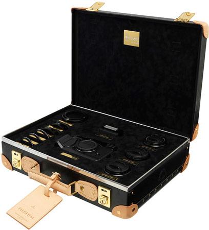 Камера Fujifilm X-Pro1 с набором принадлежностей для съемки в чемоданчике Globe Trotter выпущена всего в 12 экземплярах