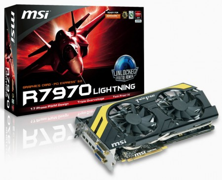 Видеокарта MSI R7970 Lightning