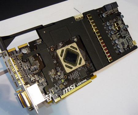 CeBIT: показана 3D-карта MSI R7970 Lightning