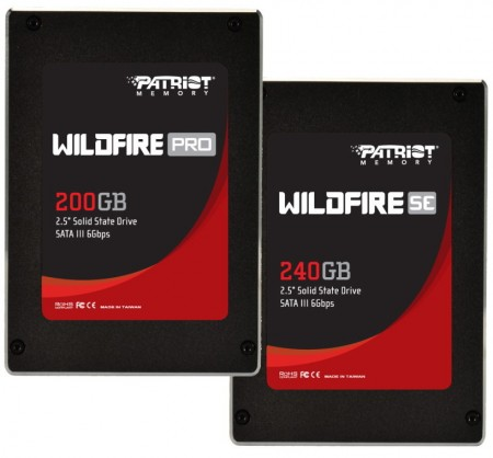 SSD Wildfire Pro и Wildfire SE