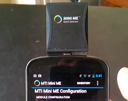 MINI ME RFID работает с устройствами под управлением ОС Android