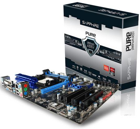 Sapphire Pure Platinum A55V