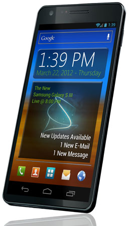 ����� ����������� Samsung Galaxy SIII, ������� �� �����������