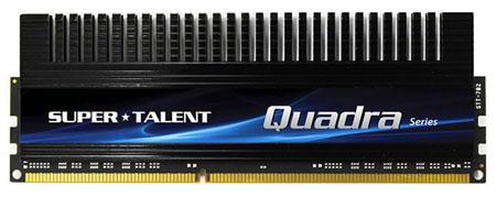 Super Talent предлагает модули Quadra DDR3-2133 по одному и в комплектах по четыре