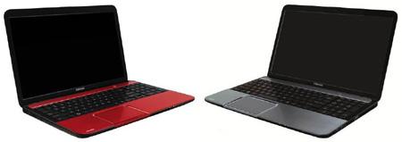 Ноутбуки Toshiba Satellite L образца 2012 года