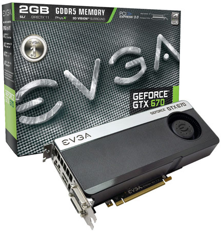 EVGA ��������� ��� ������ 3D-���� GeForce GTX 670, ��� �� ������� ��������� � ��������� ��������