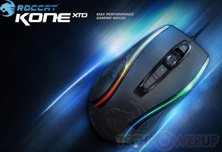 Roccat покажет на Computex новые игровые мыши Kone XTD и Lua