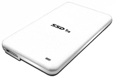 Скорость внешнего SSD Axtremex в режиме чтения достигает 240 МБ/с