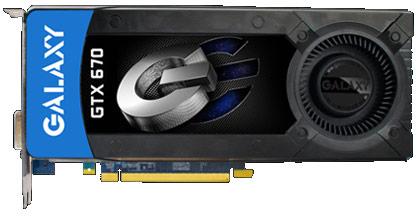 Galaxy GeForce GTX670