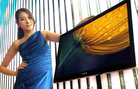 Разрешение монитора Samsung S27B970 равно 2560 x 1440 пикселей