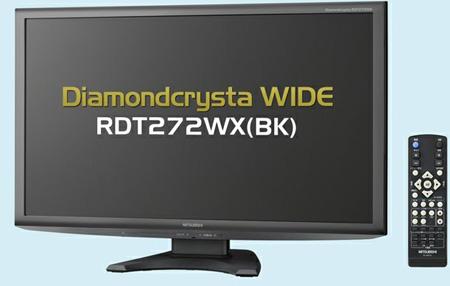 Mitsubishi DiamondCrysta RDT272WX-BK