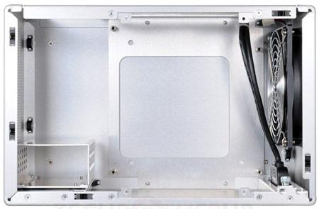 Корпус Lian Li PC-Q09FN рассчитан на платы типоразмера mini-ITX