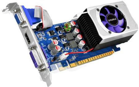 В каталоге Sparkle появились 3D-карты GeForce GT 610, GT 620 и GT 630