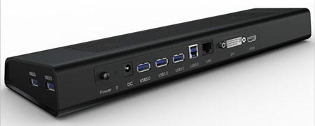 Стыковочная станция ORICO для ультрабуков оснащена пятью портами USB 3.0