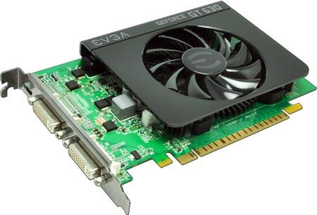 Ассортимент EVGA пополнился 3D-картами серии GeForce GT 600