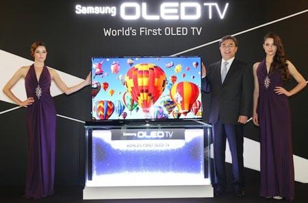 Наступление больших экранов OLED начнется этим летом