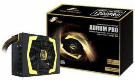 ���������� 12 � ����������� � ������ ������� FSP Aurum PRO �� ������������ ����