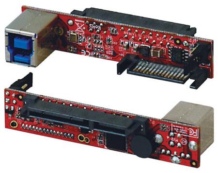 Переходник KRHK-SATA3U3 трансформирует USB 3.0 в SATA 6 Гбит/с