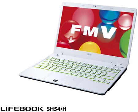 Fujitsu Lifebook SH54/H