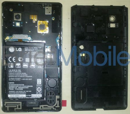 LG LS970 поддерживает технологию NFC и оснащен сменной батарее