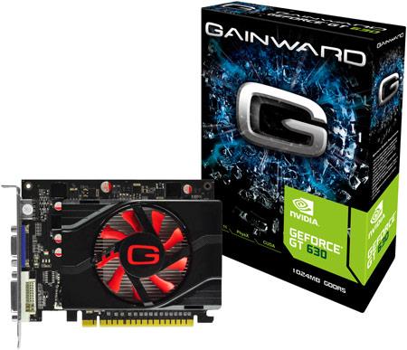 В серию 3D-карт Gainward GeForce GT 600 вошло семь изделий, включая модель с пассивным охлаждением